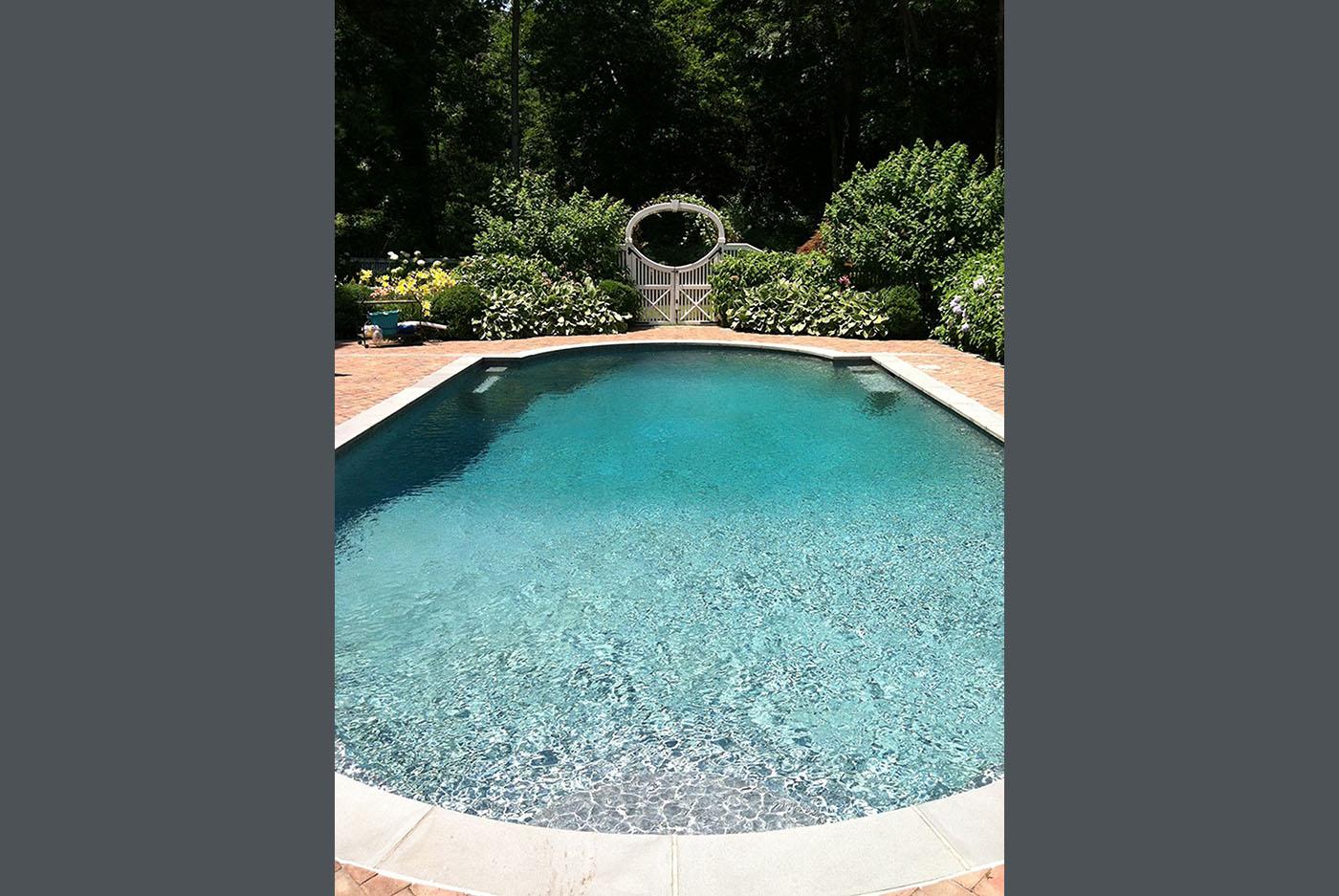 Harrison Residence Pool Vernon Hills Landscaping Corp